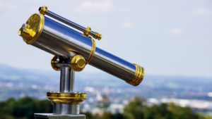 telescope, outlook, distant view